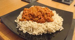 Balti curry healthy recipe