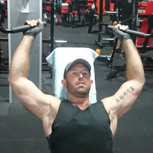 Health image of me in the gym