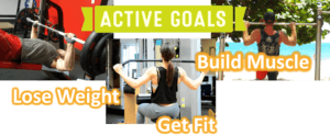 Fitness homepage