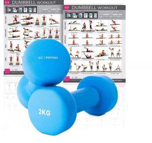 KG Physio dumbells