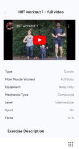 Home fitness app 2