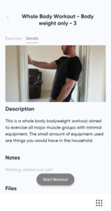 Home fitness app 3