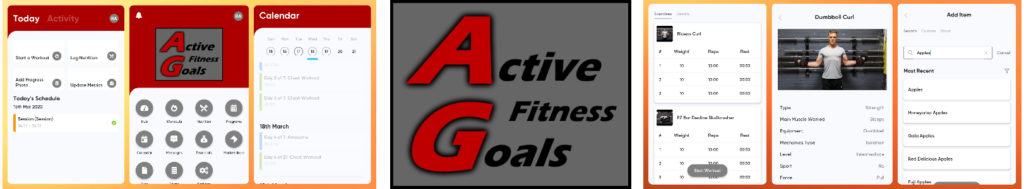 Online personal training banner