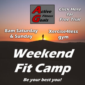 Weekend Fit Camp banner