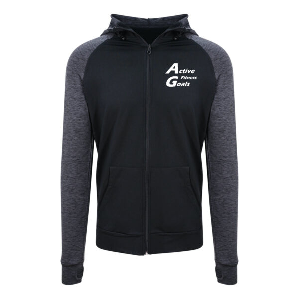 Mens fitness hoodie front