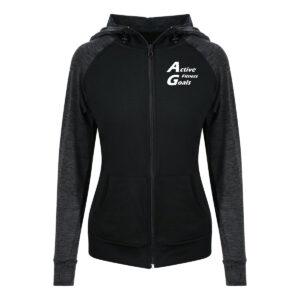 Women's fitness hoodie front