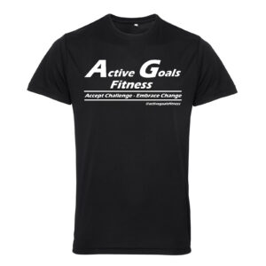 fitness t-shirt challenge change black
