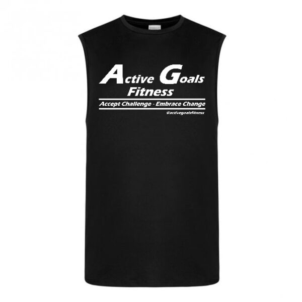 fitness vest challenge change Black