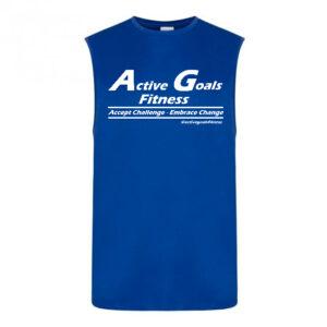 fitness vest challenge change Royal Blue