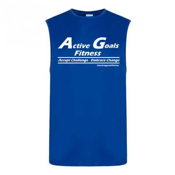 fitness vest challenge change Royal Blue