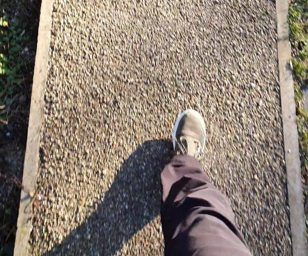 10,000 steps taking a step