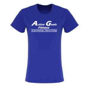 TR024 Ladies T-shirt Royal