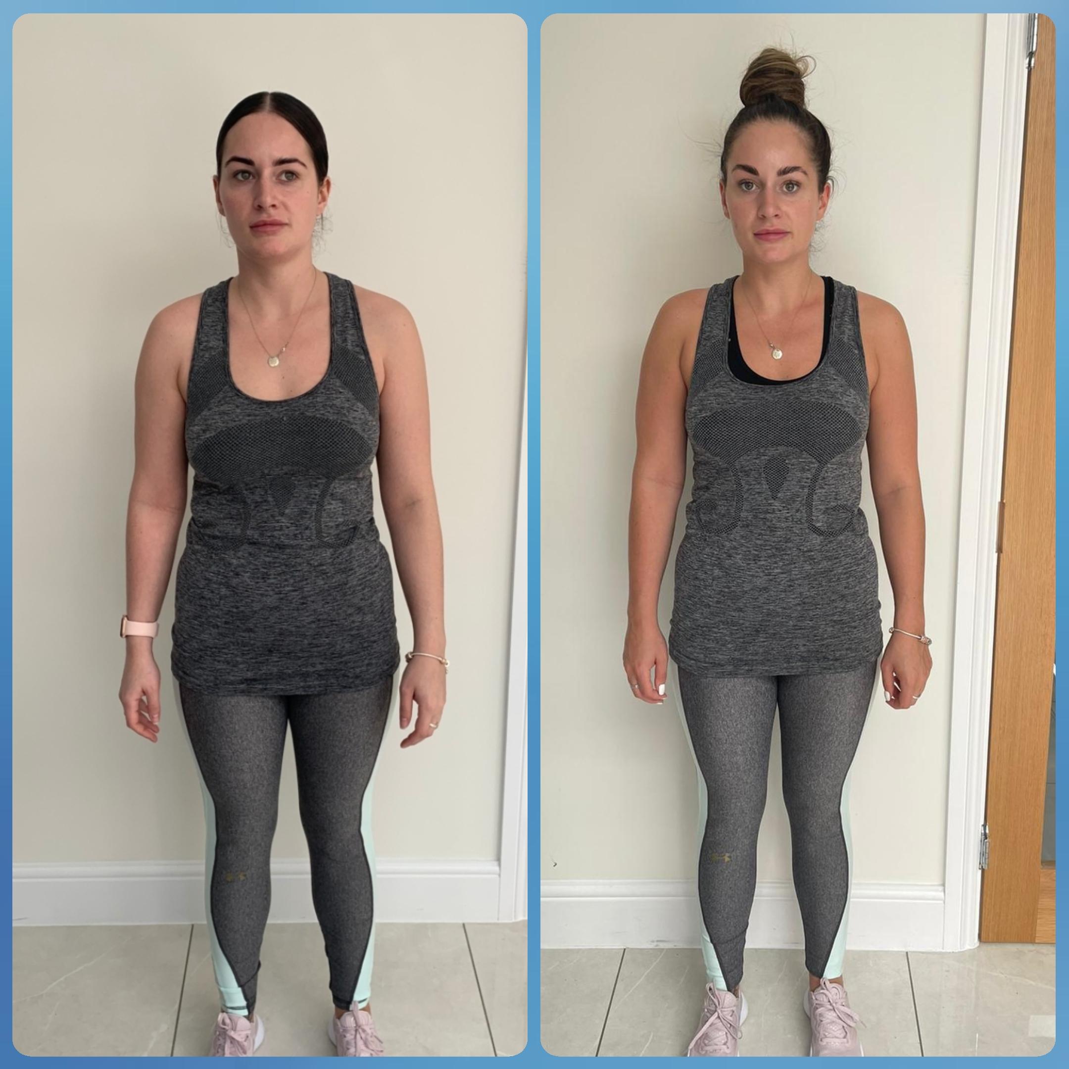 Kiera 12 week transformation 3