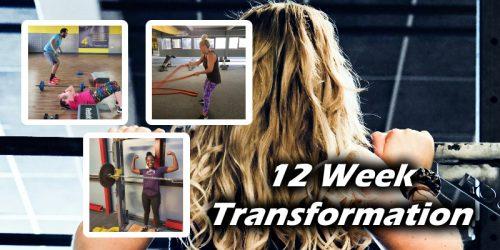 12 week fitness transformation - Milton Keynes