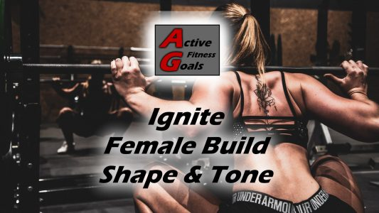 Ignite female tone fitness workout